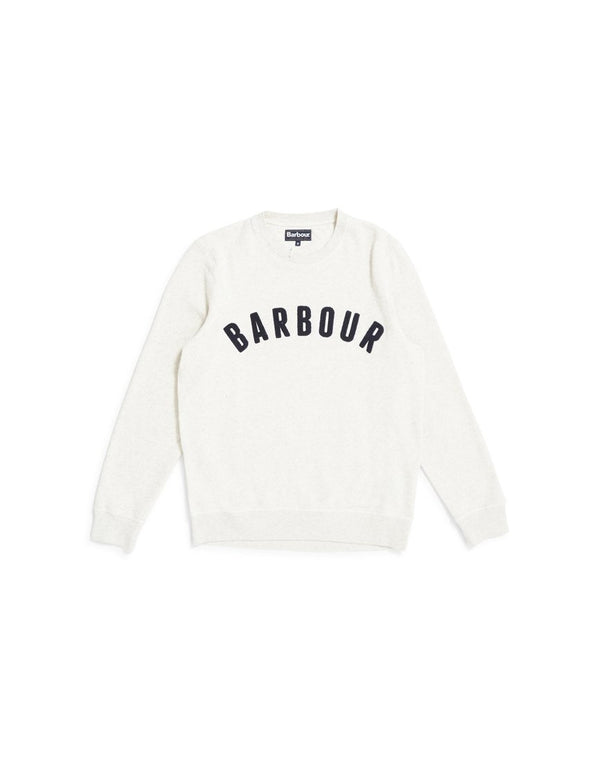 Barbour - Prep Logo Crew Sweatshirt White