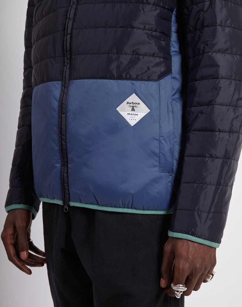 Barbour - Beacon Glenridding Quilted Jacket Navy