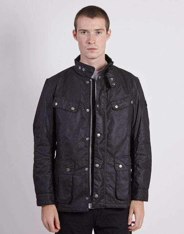 Barbour - International Duke Wax Jacket Black