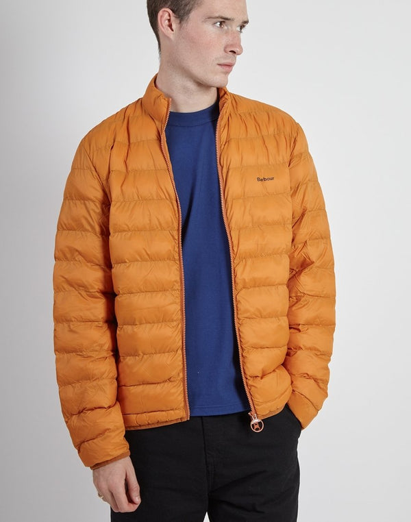 Barbour - Penton Quilted Jacket Orange