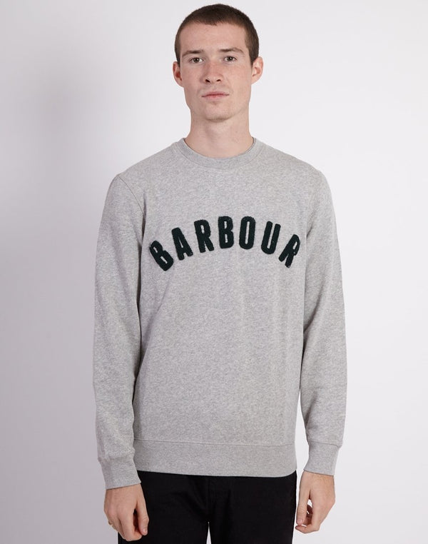 Barbour - Prep Logo Crew Grey