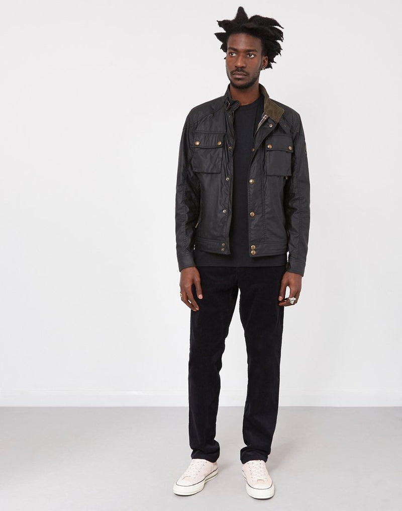 Belstaff - Racemaster Wax Jacket Black