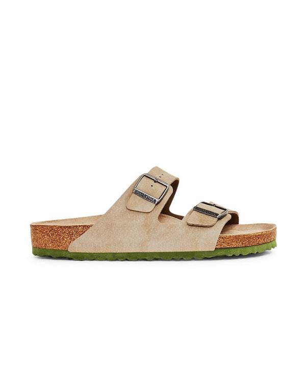 Birkenstock - Two Tone Arizona Sandal Tan