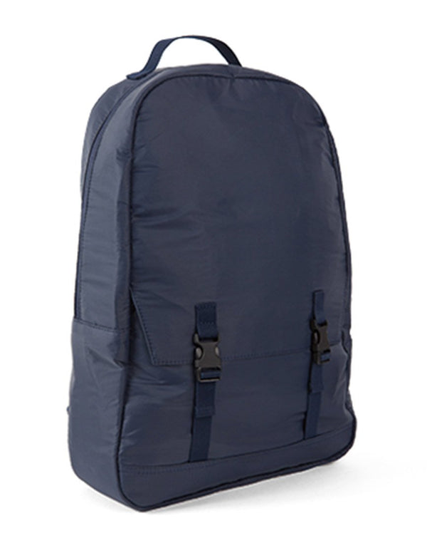 C6 - Simple Pocket Back Pack Rip Stop Blue