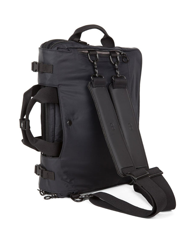 C6 - 3 in 1 Laptop Bag Rip Stop Black