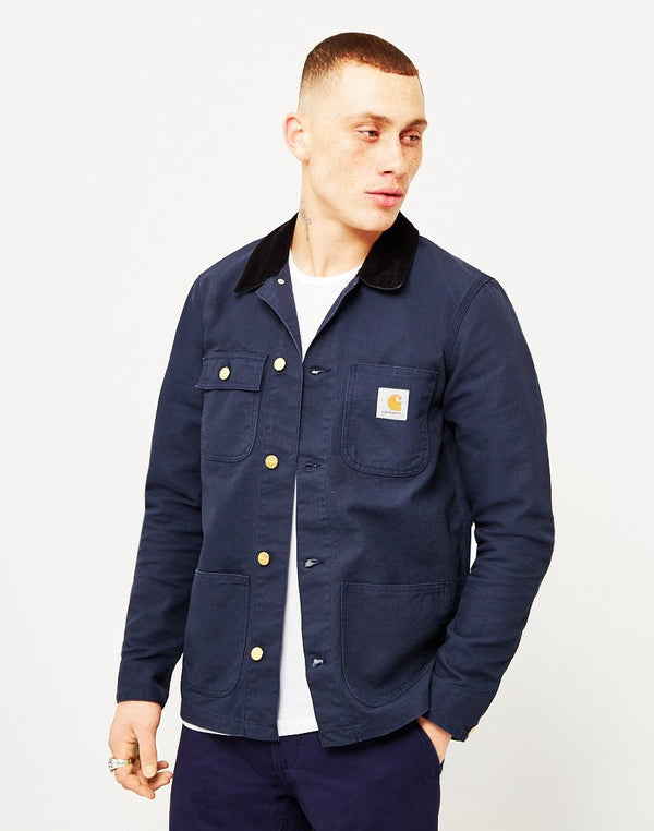 Carhartt WIP - Michigan Chore Coat Denim Blue