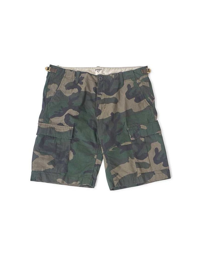 Carhartt WIP - Aviation Short Green Camo