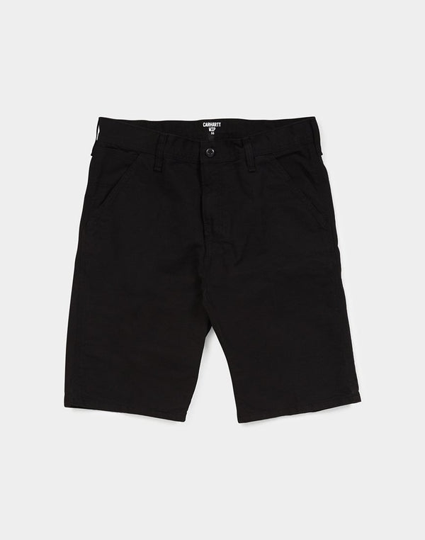 Carhartt WIP - Chalk Short Black