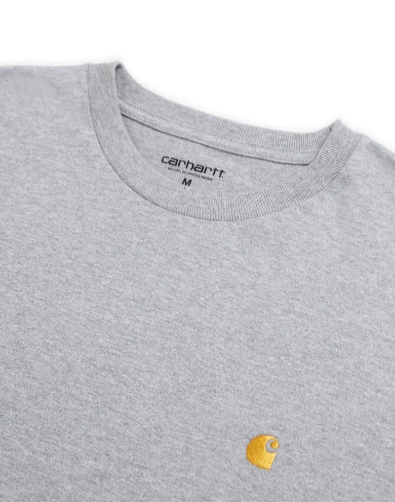 Carhartt WIP - Chase Long Sleeve T-Shirt Grey