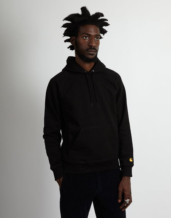 Carhartt WIP - Hooded Chase Sweatshirt Black