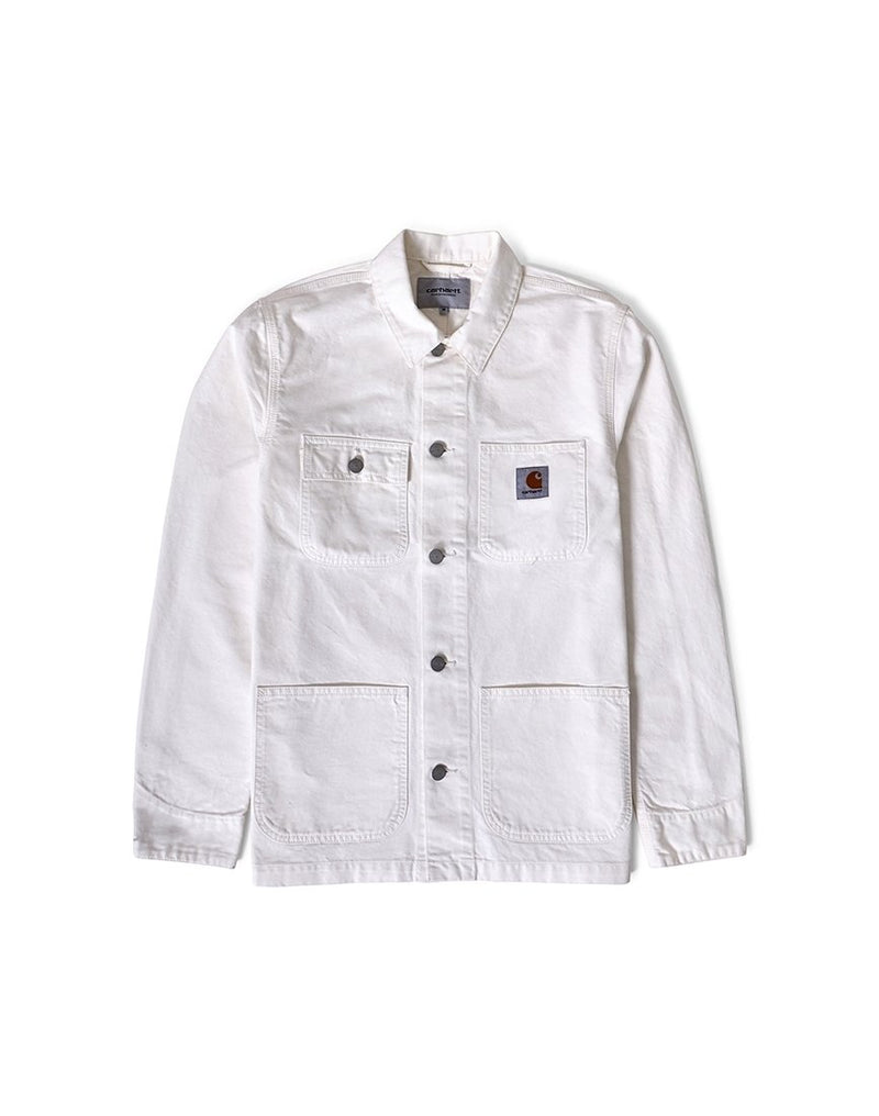 Carhartt WIP - Michigan Chore Coat White