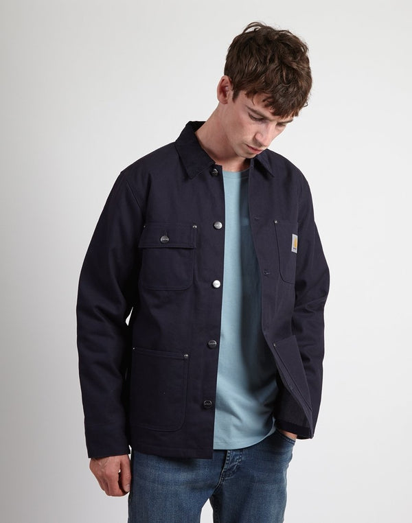 Carhartt WIP - Michigan Coat Dark Navy (Lined)