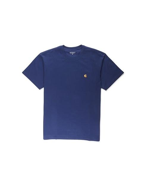 Carhartt WIP - Short Sleeve Chase T-Shirt Blue