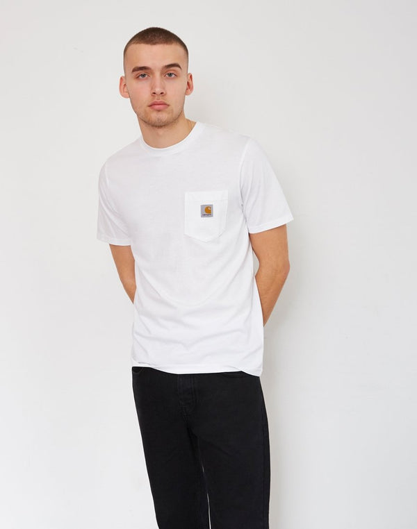 Carhartt WIP - Short Sleeve Pocket T-Shirt White