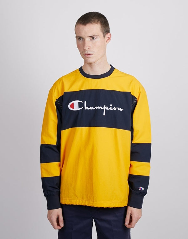 Champion - Crewneck Sweatshirt Yellow