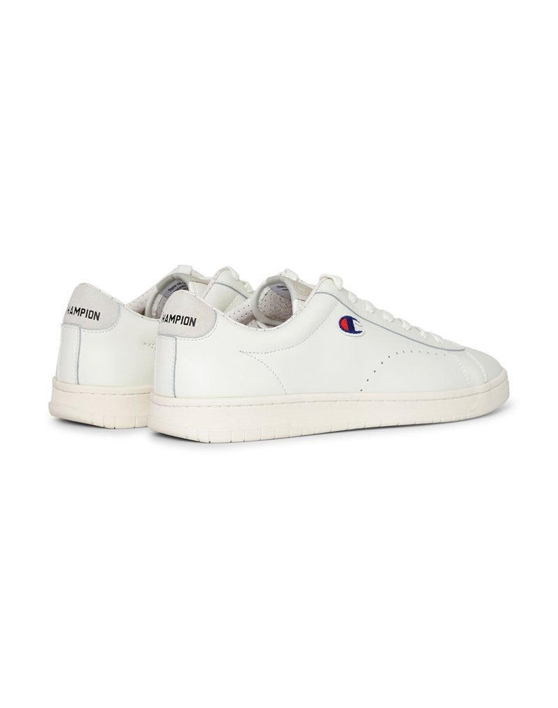 Champion Footwear - 919 Patch Leather Plimsolls White
