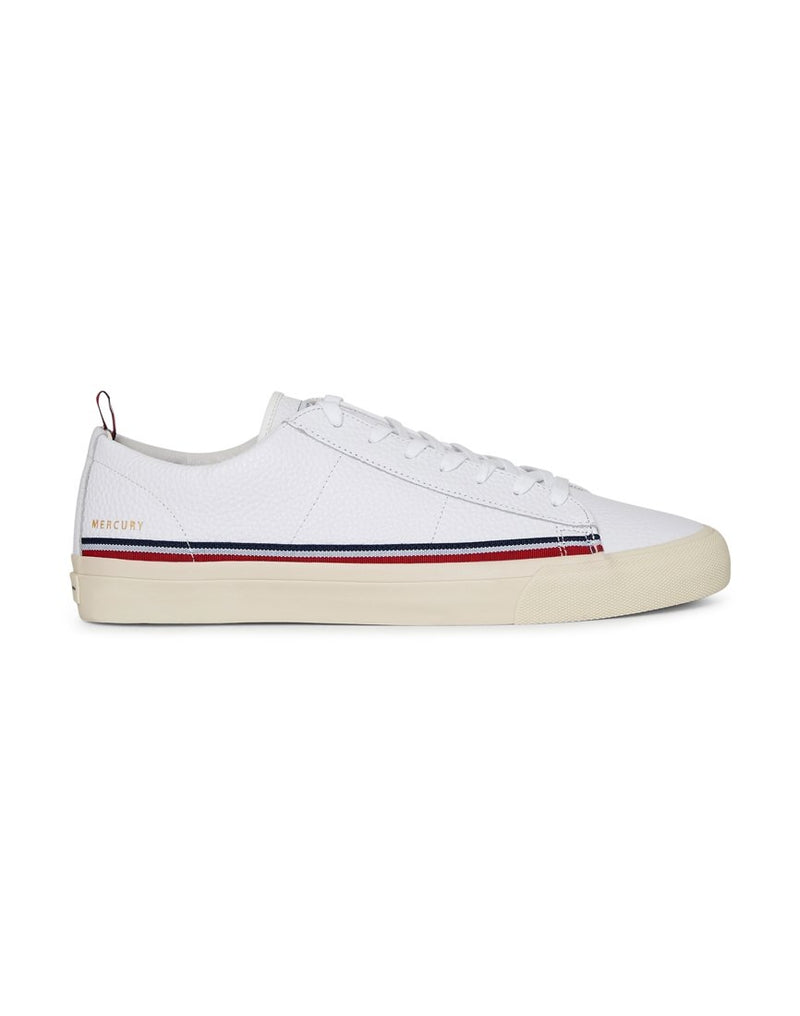 Champion Footwear - Mercury Low Leather Plimsolls White