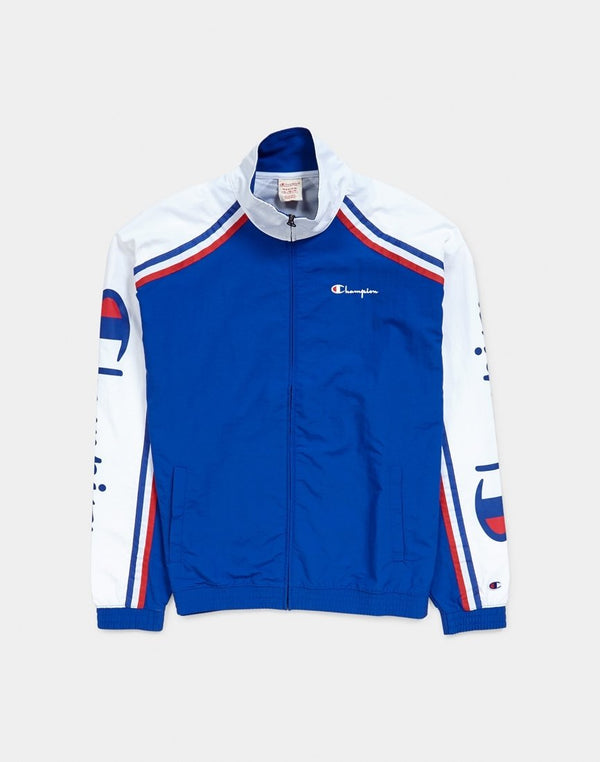 Champion - Full Zip Sweatshirt Blue