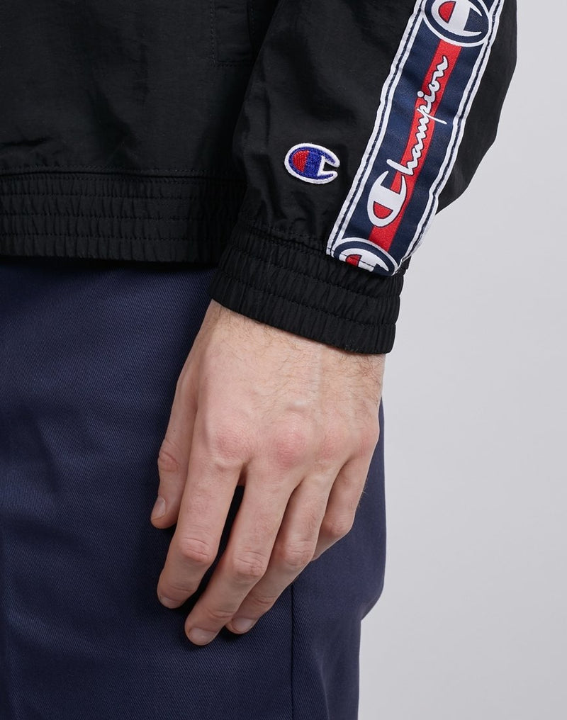 Champion - Full Zip Top Black & Blue