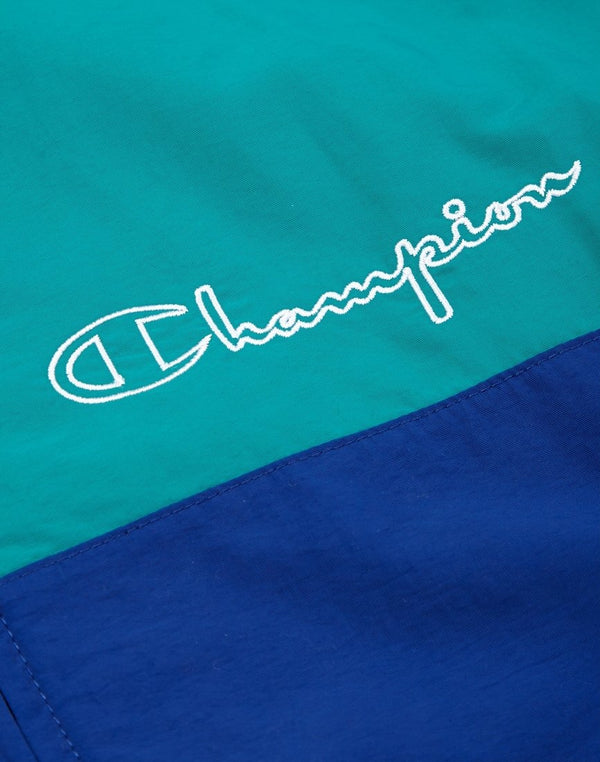 Champion - Full Zip Top Blue & Teal