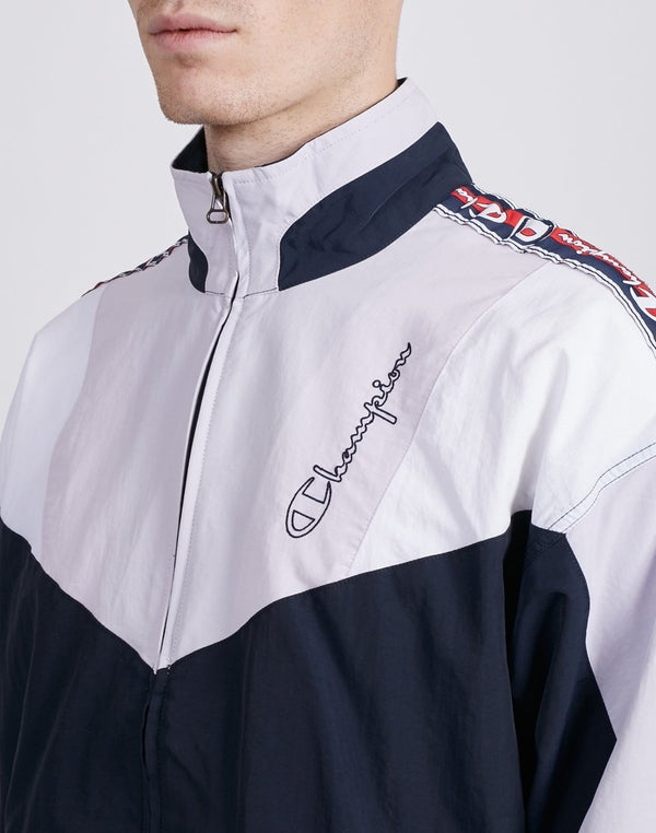 Champion - Full Zip Top Navy & Grey