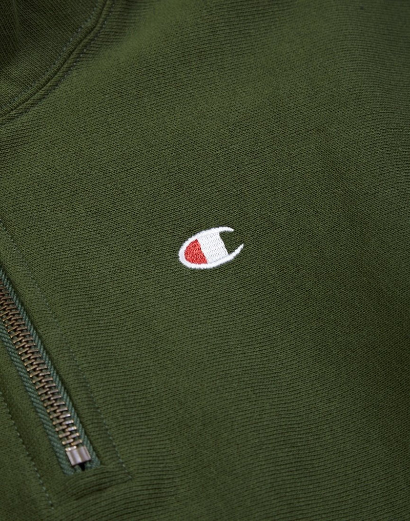 Champion - Half Zip Sweatshirt Green