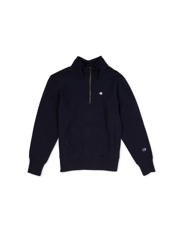 Champion - Half Zip Sweatshirt Navy