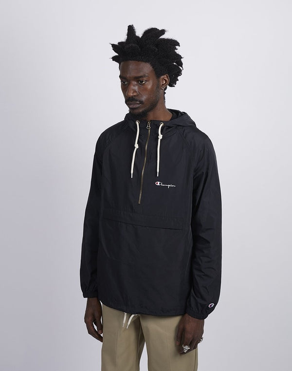Champion - Half Zip Hooded Jacket Black