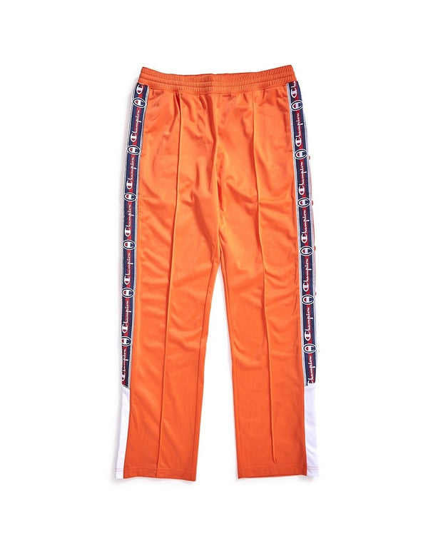 Champion - Logo Stripe Sweatpants Orange