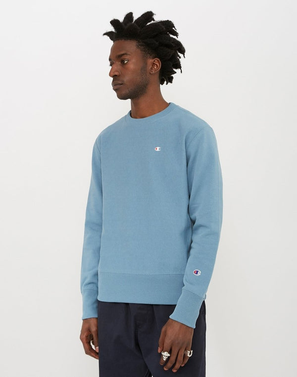 Champion - Reverse Weave Crewneck Sweatshirt Dark Blue