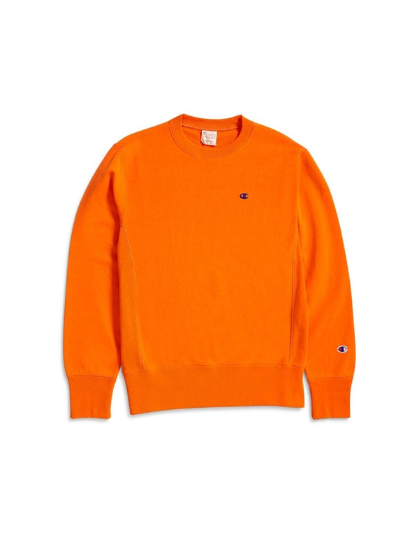 Champion - Reverse Weave Crewneck Sweatshirt Orange