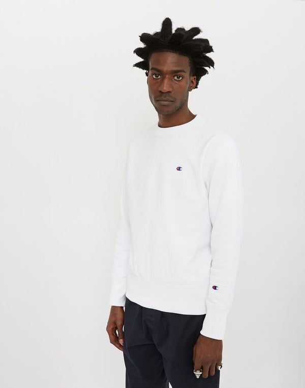 Champion - Reverse Weave Crewneck Sweatshirt White