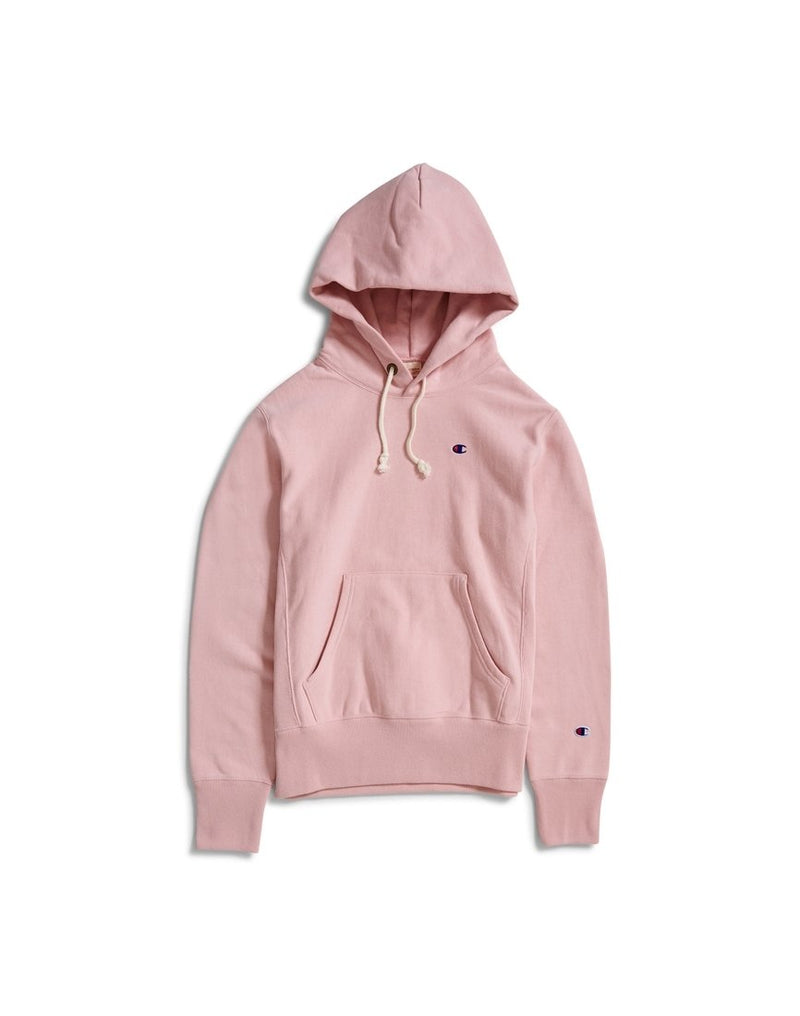Champion - Reverse Weave Hooded Sweatshirt Pink