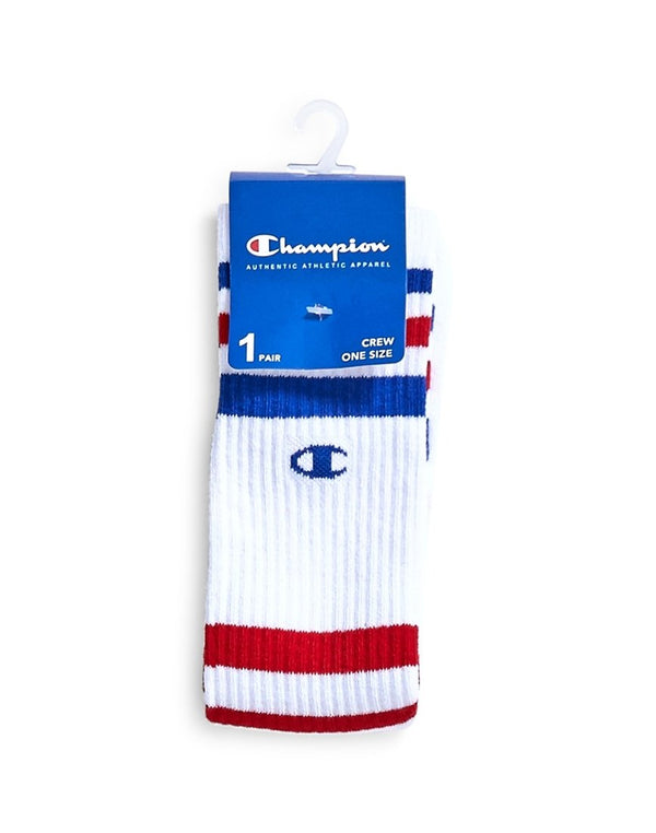 Champion - Stripe Socks Red