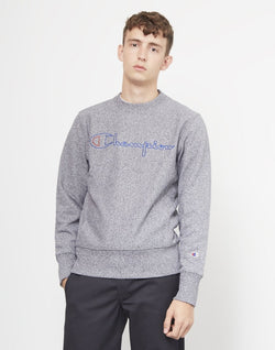 Champion - Reverse Weave Marl Sweatshirt Grey