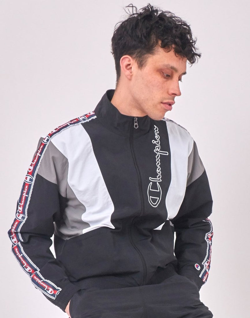 Champion - Track Top Black