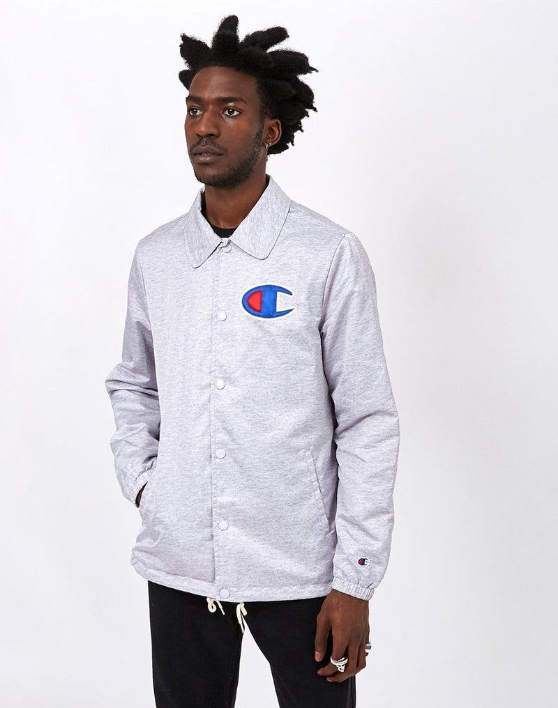 Champion - Coach Jacket Grey