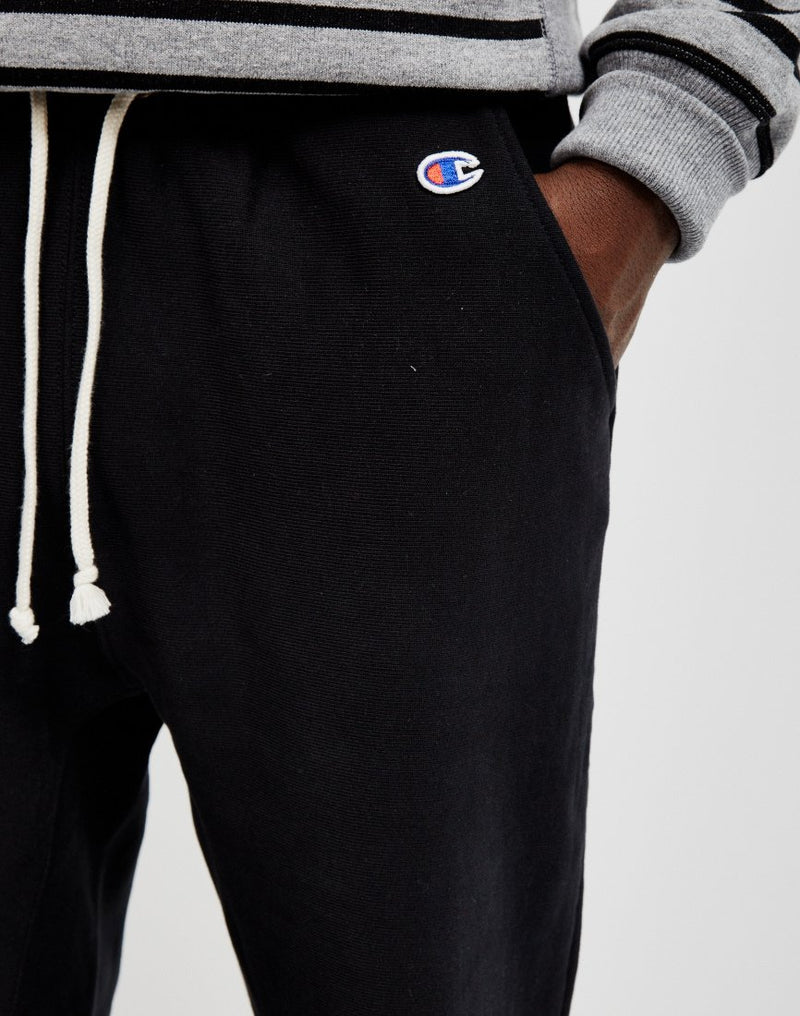 Champion - Reverse Weave 2.0 Rib Cuff Pants Black