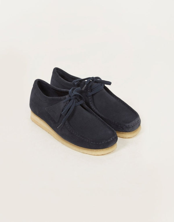 Clarks Originals - Suede Wallabee Blue