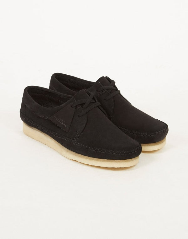 Clarks Originals - Suede Weaver Boot Black