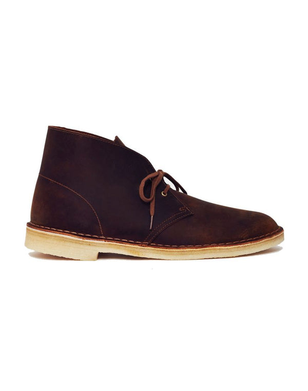 Clarks Originals - Leather Desert Boot Brown