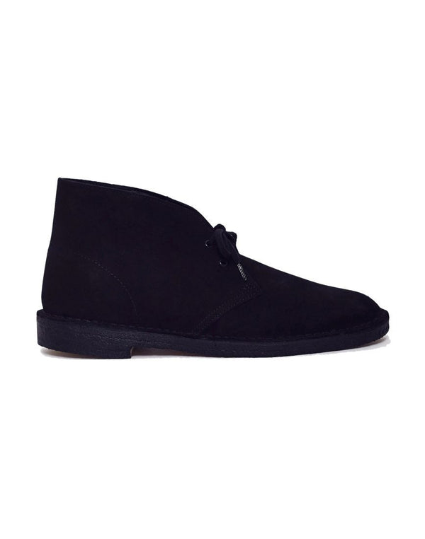 Clarks Originals - Suede Desert Boot Black