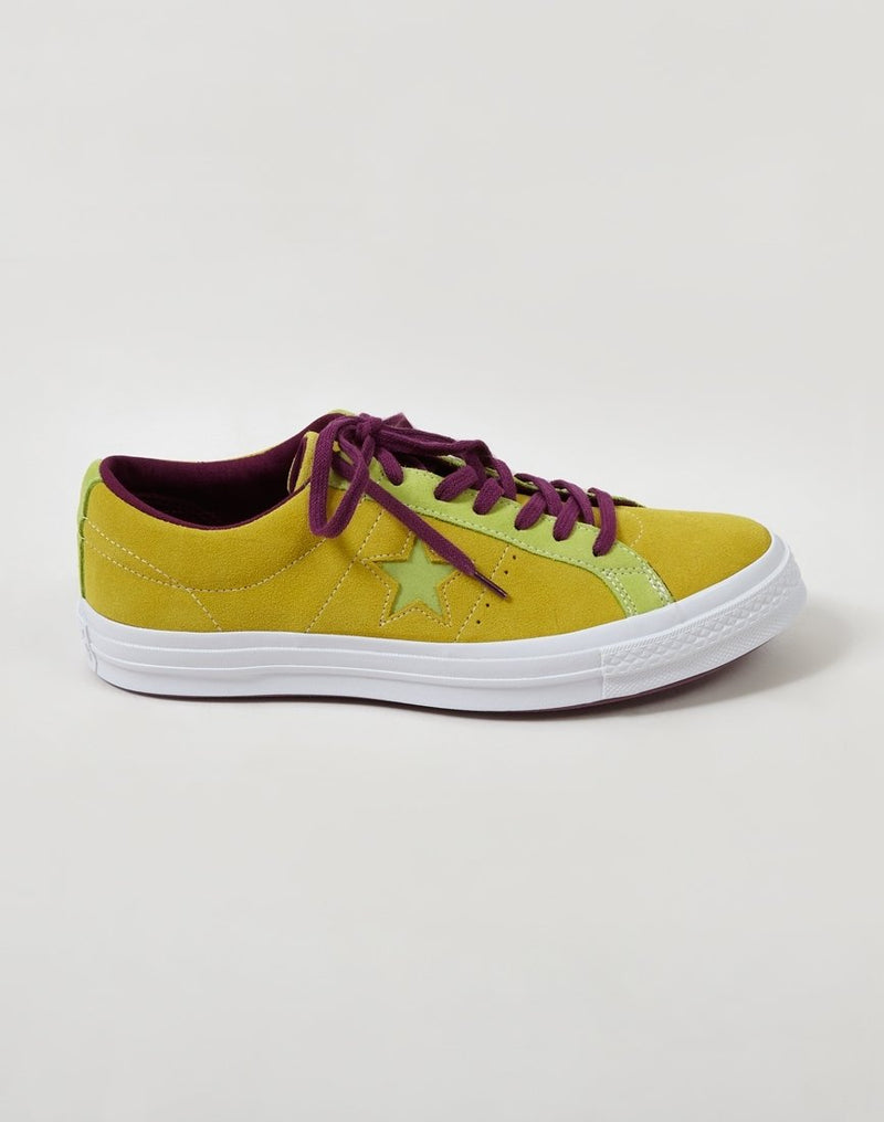 Converse - One Star Ox Low Green & Mustard