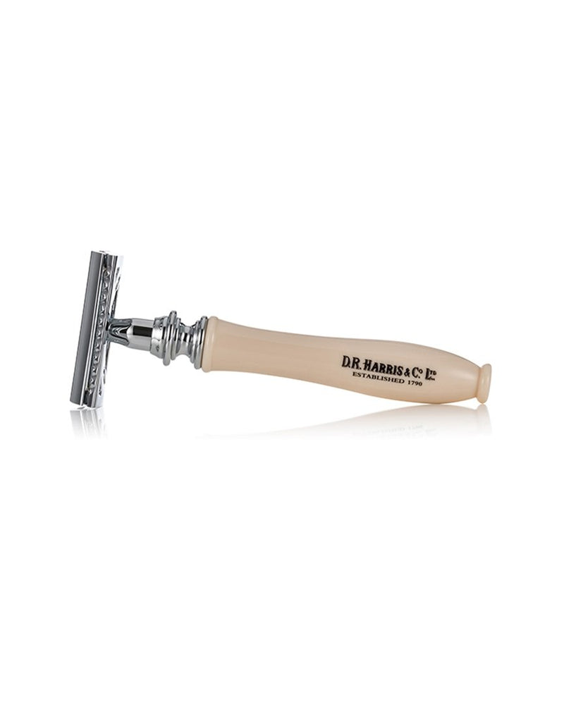 D.R. Harris - Safety Razor 3 Part Ivory