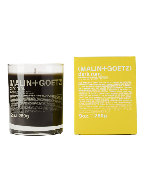 Malin & Goetz - Dark Rum Candle 260g