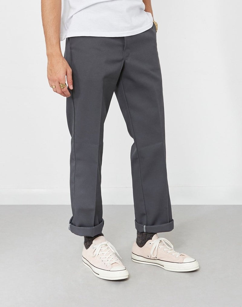 Dickies - 873 Slim Straight Work Pant Charcoal Grey