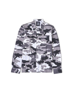 Dickies - Kempton Long Sleeve Shirt White Camoflauge