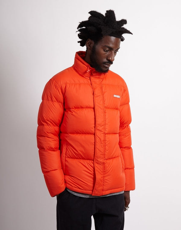 Dickies - Oakvale Zip Up Down Jacket Orange