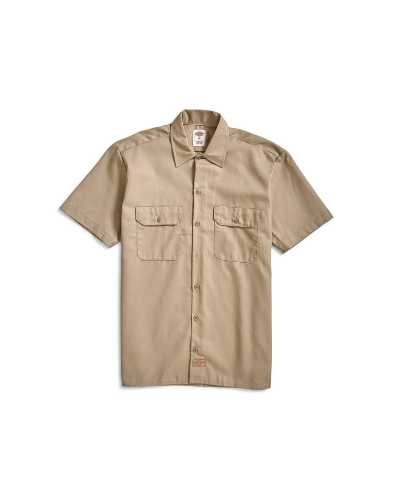 Dickies - Short Sleeve Work Shirt Beige