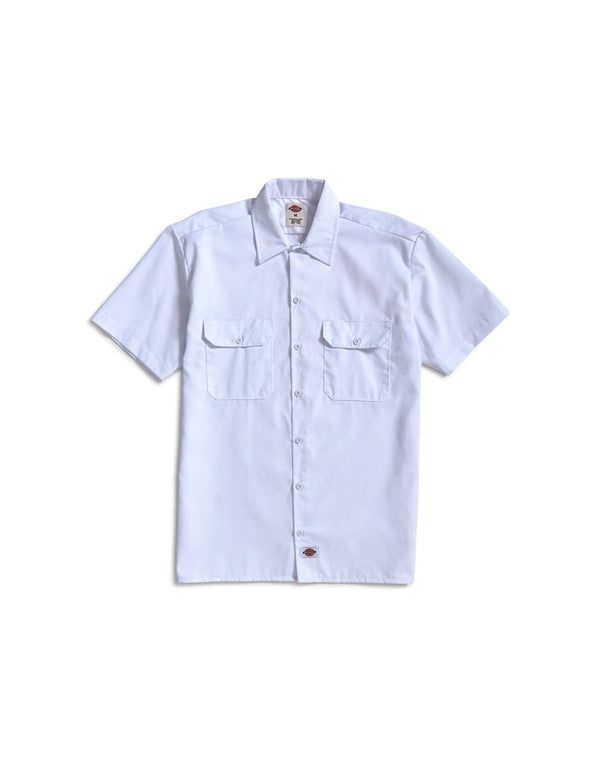 Dickies - Short Sleeve Work Shirt White